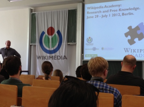 Wikipedia Academy Welcoming Address